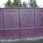 Кованые ворота в Туле